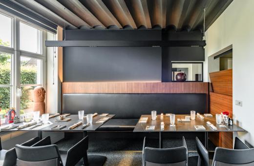 Restaurant Vivendum blik op interieur