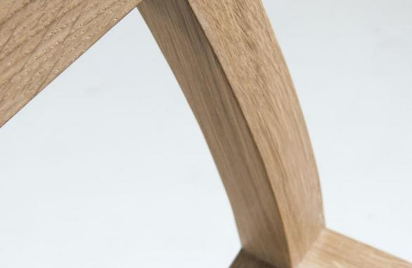 Easy Chair Alfons hout hoek