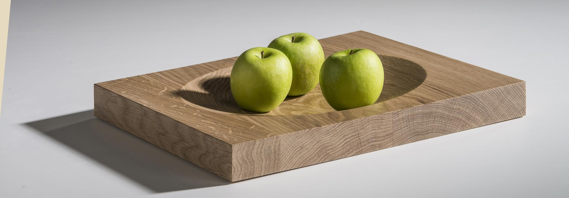 Fruit Bowl isidoor wood front view